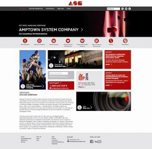 Amptown System Company launcht neue Website
