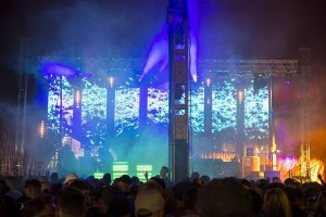 Colour Sound supplies lights & LED screens to Mint Festival
