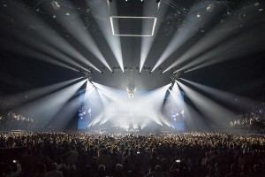 Robe BMFLs at Johnny Hallyday shows