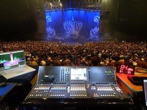 Scorpions on tour with Yamaha CL5s