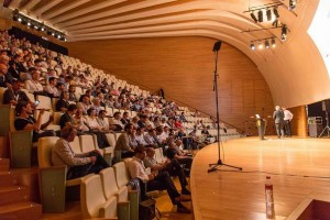 Yamaha's Valencia conference features shared 3D audio system