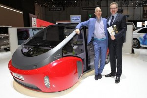 Rinspeed-Car Oasis mit Harting-Technologie