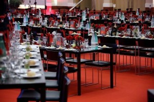 National Food Congress von Party Rent ausgestattet