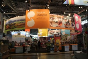 Gemco beleuchtet Messestand der Stuttgart-Marketing GmbH
