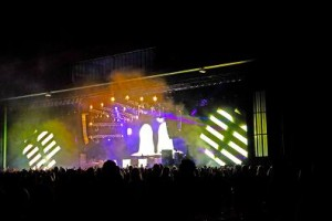 Colour Sound supplies lighting for European Lollapalooza
