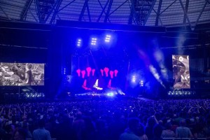 HSL is main lighting and video contractor for current Depeche Mode tour