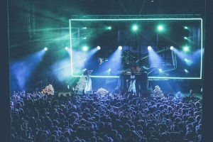 Rejjie Snow on tour with Robe fixtures