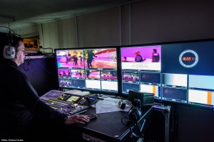 XL Video Supply Launch of cruise ship Britannia