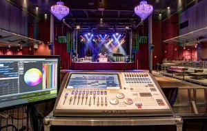 Avolites console installed at Fillmore New Orleans
