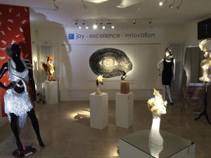 Core Lighting supplies fashion and art exhibition