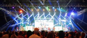 Everlast Productions equips Zumba Fitness-Concert with Clay Paky Stormys and Sharpys