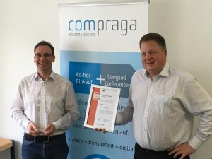 Compraga erhält Innovationspreis-IT