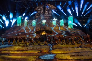 Robe illuminates Israel 70 Independence Day celebrations
