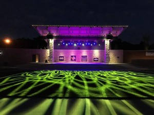 Elation fixtures installed at Federal Hill Commons amphitheatre