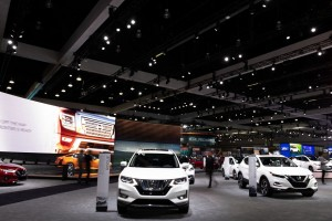 Lightswitch, 4Wall and Elation team up at LA Auto Show