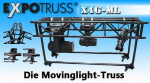 ExpoTruss präsentiert neue Movinglight-Traverse
