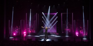 Robe fixtures on tour with Véronic DiCaire
