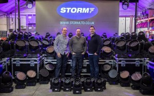 Storm Lighting invests in Robe