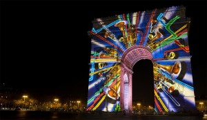 Barco projectors and Modulo Pi media servers create New Year's Eve show in Paris