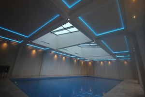 CLD provides LED solution for swimming pool lighting installation