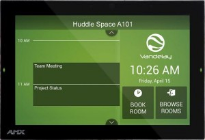 Firmware-Update bringt AMX RoomBook Touch Panels in Acendo-Familie