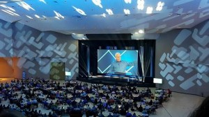 Relevant Audio Visual choose Elation fixtures for Global Leadership Summit