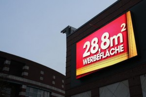 Innlights-LED-Screen am CentrO in Oberhausen