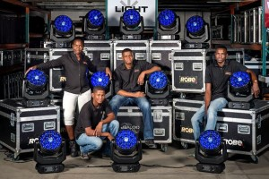 Robe Spiiders for DB Audio Namibia