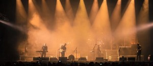 Mumford and Sons on tour with Clay Paky lights