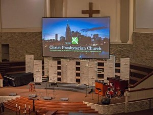 Eiki projection system installed at Nashville's Christ Presbyterian Church