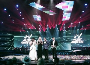 Clay Paky delivers light show on Ukraine M1 Music Awards