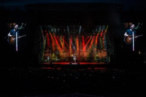 Rea Garvey mit Equipment von Litecraft, Arkaos und High End Systems auf Tour
