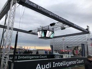Audi Intelligence Court mit LEDium XR-3 MK2 auf Tour