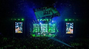 Robe fixtures used for Dzem's anniversary show in Katowice