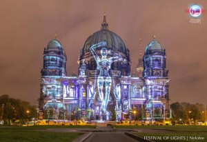 Festival of Lights mit Laserprojektoren von Digital Projection