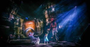 Robert Juliat followspots used for 'La Perle by Dragone'