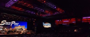 Elation EVHD LED video panels for South Point Hotel and Casino in Las Vegas