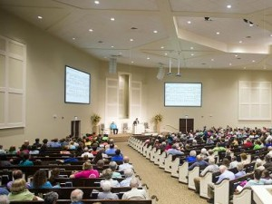 WorxAudio loudspeakers installed at Henderson Church of Christ