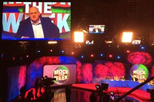 'Mock The Week' series 14 fitted with XL Video screens