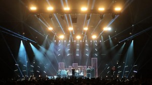 Clay Paky and Ambersphere in control with The Wombats at Alexandra Palace