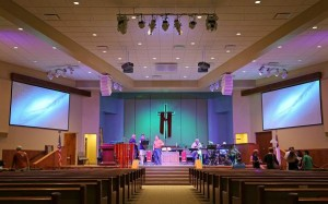 Cypress Lake United Methodist Church expands its Eiki projection presence