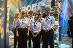 Six students support Robe team at PLASA