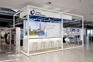Jazzunique konzipiert neuen Messestand von Union Investment