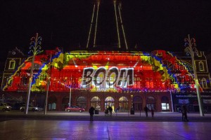 LightPool: UK's first permanent projection mapped show