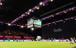 S+H supplies LED starcloth for 'Crufts'