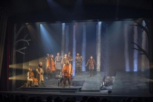 "Touring musical version of ""Ronja Rövardotter"" equipped with Robe fixtures"