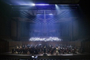 """Gerontius Traum"" in der Royal Festival Hall mit 160 Impression X4 Bars"