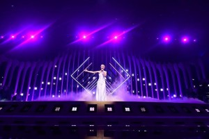 Large Robe RoboSpot system used for Eurovision 2018