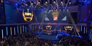Innovative Show Design's Elation rig at College Football Awards on ESPN