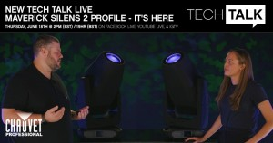 Tech Talk video offers first look at Chauvet's Maverick Silens 2 Profile